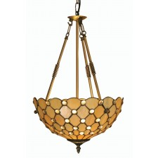 Jewel Tiffany Ceiling Light