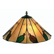 Oaks Lighting OT 3020/14 R Leaf Tiffany Uplighter