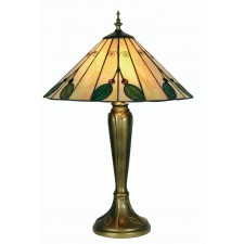 Leaf Tiffany Table Lamp - Large
