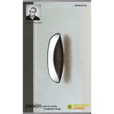 Pasion Wall Lamp 2 Light Black