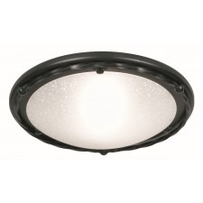 Elstead PB/F/B BLACK Pembroke Flush Light B Black