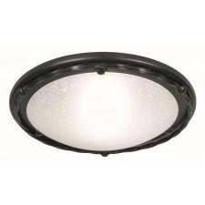 Elstead PB/F/B BLACK Pembroke Flush Light B Black