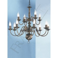 Franklite Halle Ceiling Light - 12 Light, Bronze