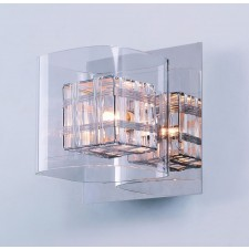 Impex Avignon Wall Light Chrome - 1 Light