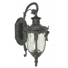 Elstead PH2/L BLK Philadelphia Large Wall Lantern Black