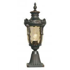 Elstead PH3/M OB Philadelphia Pedestal Lantern Medium