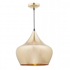 Pogo 1 Light Pendant Gold