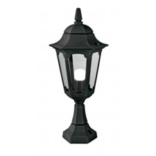 Elstead PR4 BLACK Parish Pedestal Lantern Black