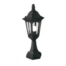 Elstead PRM4 BLACK Parish Mini Pedestal Lantern Black