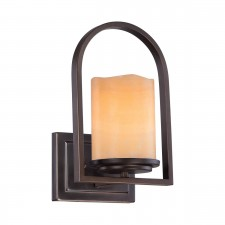 Quoizel QZ/ALDORA1 Aldora 1-Light Wall Light