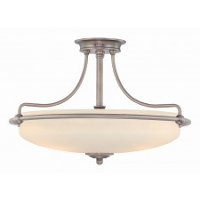 Quoizel QZ/GRIFFIN/SFM C Griffin Semi-Flush Light