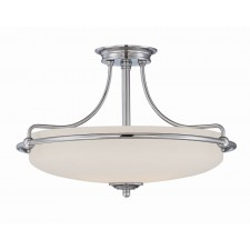 Quoizel QZ/GRIFFIN/SFMAN Griffin Semi-Flush Light