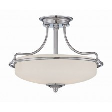Quoizel QZ/GRIFFIN/SFSAN Griffin Semi-Flush Light