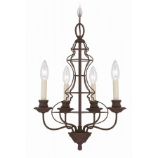 Quoizel QZ/LAILA4A Laila 4 - Light Chandelier