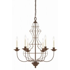 Quoizel QZ/LAILA6 Laila 6 - Light Chandelier