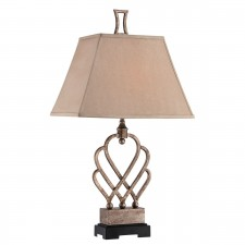 Quoizel QZ/TRIHEART/TLA Triheart Table Lamp