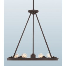 Quoizel QZ/THEATERROW6WT Uptowntr 6 - Light Chandelier