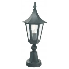Norlys R3 BLK/GOLD Rimini Pedestal Lantern Black/Gold