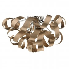 Rawley 5 Light Flush 60CM Brushed Copper