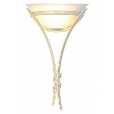 Elstead RB/WU IV/GOLD Ribbon Wall Uplighter Ivory/Gold