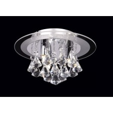 Renner Flush Ceiling Light - 3 Light