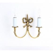 Impex Richmond Wall Light - 2 Light, Polished Brass