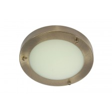 Rondo 18 Bathroom Light - Antique Brass