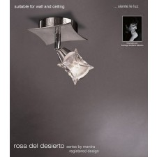 Rosa Del Desierto Adjustable 1 Light Spot Light Satin Nickel