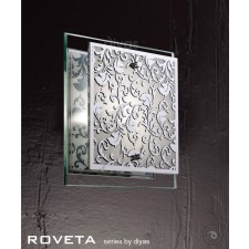 Diyas Roveta Ceiling/Wall 1 Light Polished Chrome