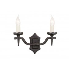 Elstead RY2B BLACK Rectory 2 - Light Wall Light B Black