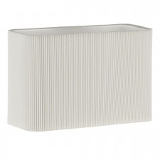 Piza Micropleat Shade - Cream