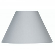 Oaks Lighting S501/20 SG Soft Grey Cotton Coolie Shade