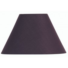 Oaks Lighting S501/10 PL Plum Cotton Coolie Shade