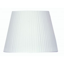 "Oaks Lighting S814/16 WH 16"" Pencil Pleat White"