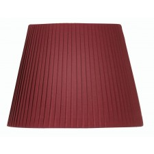 "Oaks Lighting S814/10 WI 10"" Pencil Pleat Wine"