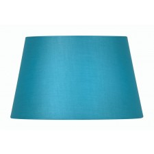 Oaks Lighting S901/14 BL Blue Cotton Drum Shade