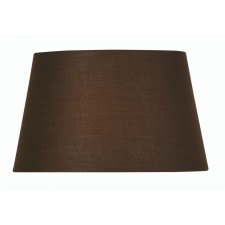 Oaks Lighting S901/12 CO Chocolate Cotton Drum Shade