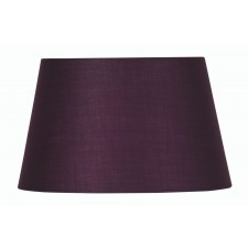 Oaks Lighting S901/16 PL Plum Cotton Drum Shade