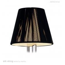 13cm Silk String Clip On Shade Black