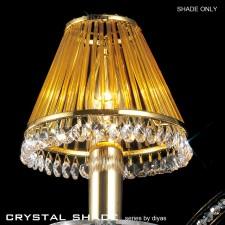 Diyas Crystal Shade Amber