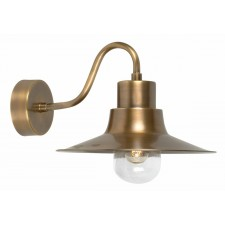 Elstead SHELDON BR Sheldon Wall Lantern Brass