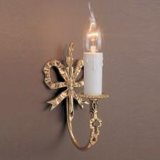 Impex Richmond Wall Light Polished Brass - 1 Light