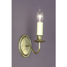 Impex Georgian Wall Light Bronze - 1 Light