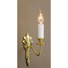 Impex Goodwood Wall Light Polished Brass - 1 Light