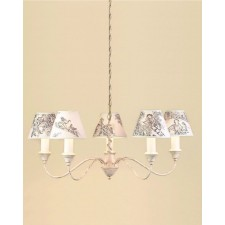 Impex Caravelle Chandelier Cream - 5 Light