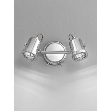 Franklite SPOT8942 Studio 2-Light Spot Wall Bracket