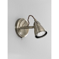 Franklite SPOT8951 Rustica 1-Light Spot Wall Bracket