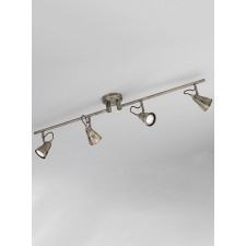 Franklite SPOT8954 Rustica 4-Light Spot Ceiling Flush
