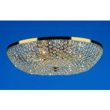 Impex Essen Ceiling Light Gold Plated - 6 Light