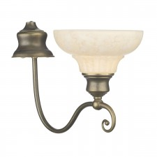 Stratford Wall Light - Aged Brass